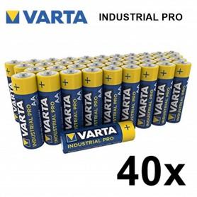 Varta, Varta Industrial PRO LR6 / AA alcalin, Format AA, BS370-CB, EtronixCenter.com
