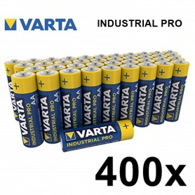 Varta - Varta Industrial PRO LR6/AA alkaline - Size AA - BS370-CB