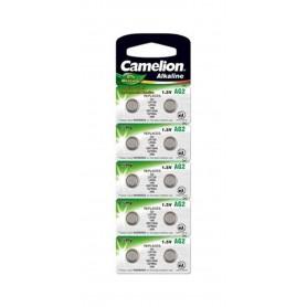 Camelion - Camelion AG2 L726 SR726 SR59 396 556 29 RW411 G2 1.5V Alkaline - Button cells - BS399-CB