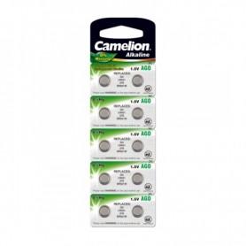 Camelion - Camelion L521, AG0, 384, SR521W, G0 1.5V Alkaline - Knoopcellen - BS400-CB www.NedRo.nl