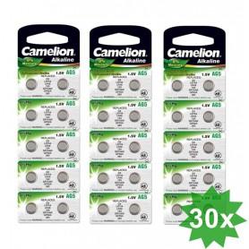 Camelion - Camelion LR48, AG5, LR754, 193, G5, GP93A, 393, SR754W 1.5V Alkaline - Knoopcellen - BS401-CB www.NedRo.nl
