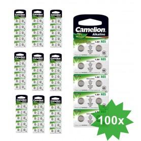 Camelion - Camelion LR48, AG5, LR754, 193, G5, GP93A, 393, SR754W 1.5V Alkaline - Button cells - BS401-CB
