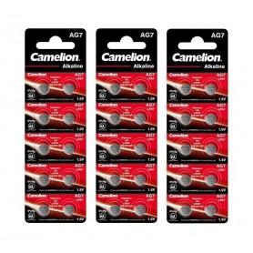 Camelion - Camelion AG7 395 / 399 / SR 927 SW / G7 1.5V knoopcel batterij - Knoopcellen - BS402-CB www.NedRo.nl