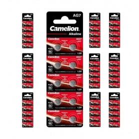 Camelion - Camelion AG7 395 / 399 / SR 927 SW / G7 1.5V watch battery - Button cells - BS402-CB