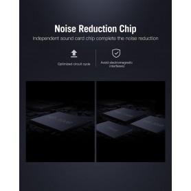 Vention - OMTP/CTIA USB externe geluidskaart naar 3.5mm audio microfoon AUX adapter - Audio adapters - V107-SINGLE www.NedRo.nl