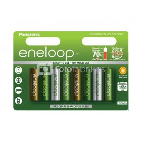 Eneloop, AAA HR03 Eneloop Botanic (limited edition) 750mAh Rechargeable Battery, Size AAA, NK436-CB