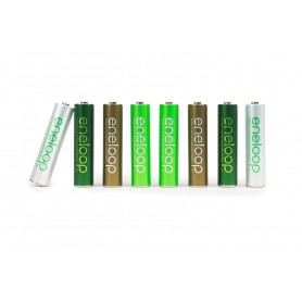 Eneloop - AAA HR03 Eneloop Botanic (limited edition) 750mAh Baterii Reincarcabile - Format AAA - NK436-CB www.NedRo.ro