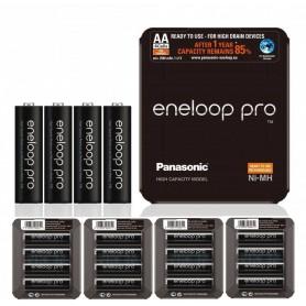Eneloop - Panasonic eneloop PRO Sliding AA R6 2550mAh 1.2V Rechargeable Battery - Size AA - NK437-CB
