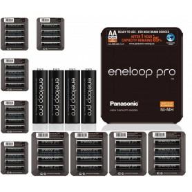 Eneloop - Panasonic eneloop PRO Sliding AA R6 2550mAh 1.2V Oplaadbare Batterij - AA formaat - NK437-CB www.NedRo.nl