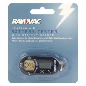 Rayovac, Rayovac Hoortoestel Horloge knoopcel batterijen Tester, Batterijen accessories, BL261, EtronixCenter.com