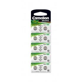 Camelion - Camelion AG8 G8 LR55 391 LR1120 1.5V Alkaline button cell battery - Button cells - BS390-CB