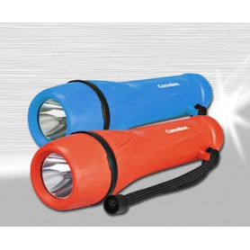 Camelion, Camelion rubber flashlight including 2x AA batteries, Flashlights, BS404-CB