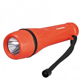 Camelion - Camelion rubber zaklamp inclusief 2x AA batterijen - Zaklampen - BS404-CB www.NedRo.nl