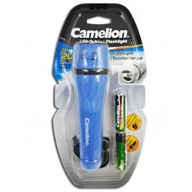 Camelion, Camelion Lanteră din cauciuc cu 2 baterii AA, Lanterne, BS404-CB, EtronixCenter.com