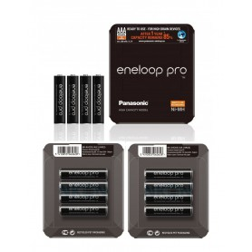 Eneloop - AAA Panasonic eneloop PRO Sliding Box oplaadbare batterij - AAA formaat - NK438-CB www.NedRo.nl