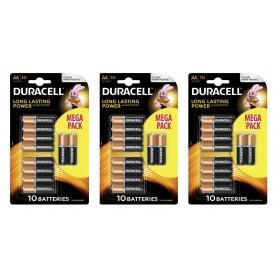 Duracell - 10-Pack Duracell Basic LR6 / AA / R6 / MN 1500 baterii de 1.5V alcaline - Format AA - BS133-CB www.NedRo.ro