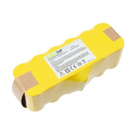 Green Cell - Battery for iRobot Roomba 500 600 700 800 series 14.4V 3000mAh Ni-MH - Electronics batteries - GC070