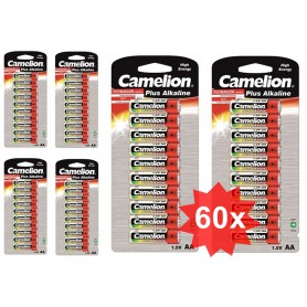 Camelion - 10-Pack Camelion Plus LR6 / AA / R6 / MN 1500 baterii de 1.5V alcaline - Format AA - BS407-CB www.NedRo.ro