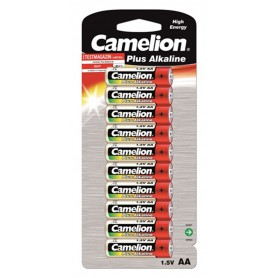 Camelion - 10-Pack Camelion Plus LR6 / AA / R6 / MN 1500 1.5V Alkaline battery - Size AA - BS407-CB www.NedRo.us
