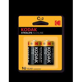Kodak, Kodak XTRALIFE C/LR14 alkaline batterij, C D 4.5V XL formaat, BS409-CB, EtronixCenter.com