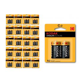 Kodak - Kodak XTRALIFE C/LR14 alkaline batterij - C D 4.5V XL formaat - BS409-CB www.NedRo.nl