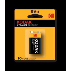 Kodak, Kodak XTRALIFE Alkaline 6LR61 9V batterij, Andere formaten, BS410-CB, EtronixCenter.com