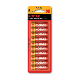 Kodak - Kodak ZINC Super Heavy Duty LR6 / AA / R6 / MN 1500 1.5V battery - Size AA - BS413-CB