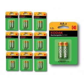 Kodak - Kodak 1.2V AA/HR6 2600mah NiMh baterie reîncărcabilă - Format AA - BS414-CB www.NedRo.ro