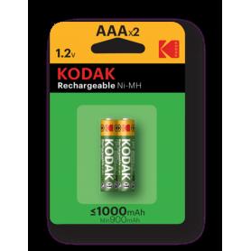 Kodak, Kodak 1000mAh AAA oplaadbare batterijen 1.2V NiMH, AAA formaat, BS415-CB, EtronixCenter.com
