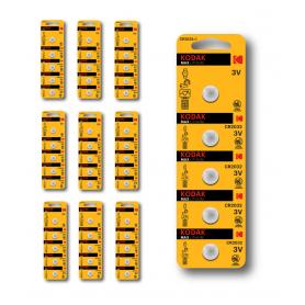 Kodak - Kodak Max CR2032 3V lithium batterij - Knoopcellen - BS418-CB www.NedRo.nl