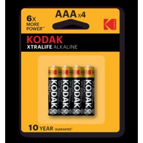 Kodak - Kodak XTRALIFE alkaline AAA/LR03 1.5V - AAA formaat - BS420-CB www.NedRo.nl