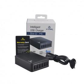 XTAR - Xtar U1 SIX-U USB Lader Hub 6 2,4A onafhankelijke kanalen - Ports en Hubs - NK202 www.NedRo.nl