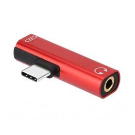 Oem - USB-C (USB Type C) Male to Audio 3.5mm Female adapter - Audio adapters - AL612-CB