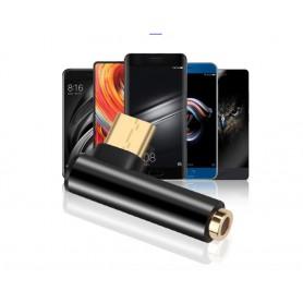 Kebidu - USB-C (USB Type C) Male naar Audio 4 pole 3.5mm Female adapter - Audio adapters - AL178-CB www.NedRo.nl