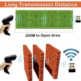 Symcode - Symcode Wireless 1D/2D Barcode Scanner 2.4GHz - Barcode scanner - AL215