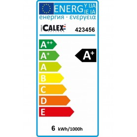 Calex - 6W GU10 Calex Cold White SMD LED 240V 480lm 4000K - Dimmable - GU10 LED - CA0994-CB