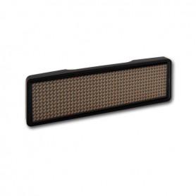 Sertronics - Sertronics placuta LED - Name Tag 9.3x3cm rama neagra - LED gadgets - ON6296-CB www.NedRo.ro