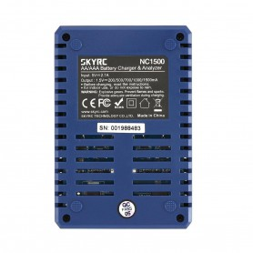 SkyRC - SkyRC NC1500 AA / AAA NiMH USB battery charger analyzer - Battery chargers - NC1500 www.NedRo.us