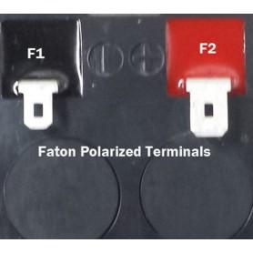 NedRo, 2x Terminal adaptor de prindere pentru baterie cu plumb - de la 4,74 mm la 6,35 mm (F1 la F2), Accesorii pentru bateri...