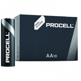 Duracell, PROCELL (Duracell Industrial) LR6 AA 1.5V alkaline battery, Size AA, NK441-CB
