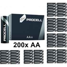 Duracell - PROCELL (Duracell Industrial) LR6 AA 1.5V alkaline battery - Size AA - NK441-CB www.NedRo.us