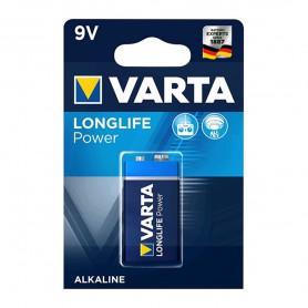 Varta Longlife Power 9V / E-Block / 6LP3146 Alkaline batterij