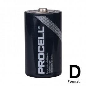 Duracell - PROCELL (Duracell Industrial) LR20 D Alkaline battery - Size C D 4.5V XL - NK445-CB www.NedRo.us