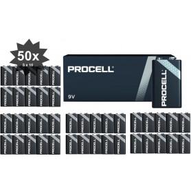 Duracell - PROCELL 9V (Duracell Industrial) Alkaline E-Block / 6LP3146 - Alte formate - NK444-CB www.NedRo.ro