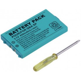 Battery for Nintendo GBA SP (Game Boy Advance SP) BT-GH188 750mAh