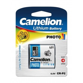 Camelion CR-P2 CRP2 6V 1400mAh Lithium battery