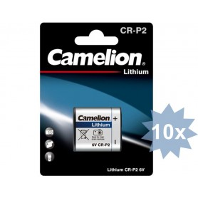 Camelion - Camelion CR-P2 CRP2 6V 1400mAh Lithium battery - Other formats - BS424-CB