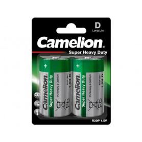 Camelion - Camelion Super Heavy Duty R20,D 8025mAh 1.5V Alkaline - Size C D 4.5V XL - BS425-CB www.NedRo.us