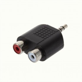 Tulp Jack 3.5mm Adapter Converter Stereo 2x Composite 6043