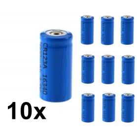 BSE - BSE ICR16340 16340 RCR123A 600mAh 3.7V Lithium rechargeable battery - Other formats - BS427-CB www.NedRo.us